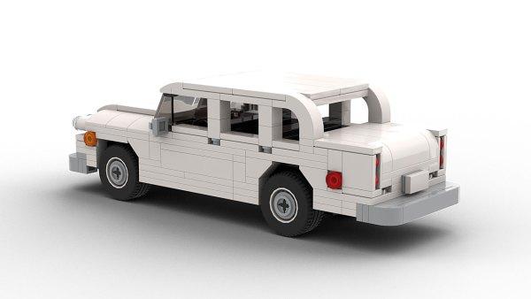 LEGO Checker Marathon model rear view