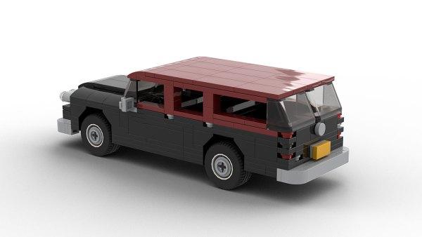 LEGO Checker Superba model rear view