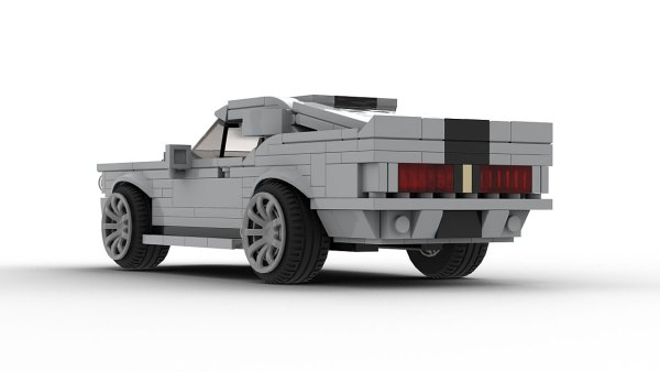 LEGO Ford Shelby GT500 Eleanor 67 model rear