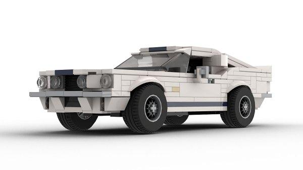 LEGO Ford Shelby GT500 Super Snake 67 model