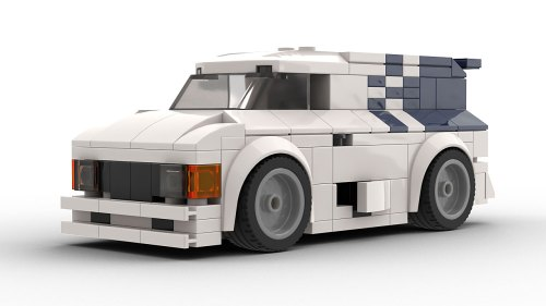 LEGO Ford Supervan 2 model