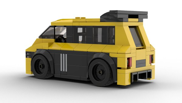 LEGO Renault Espace F1 Model Rear VIew