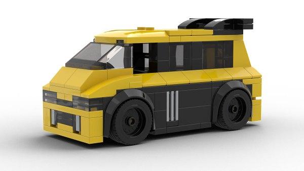 LEGO Renault Espace F1 Model