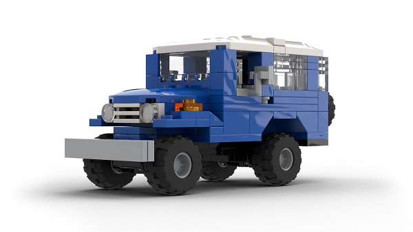 LEGO Toyota Land Cruiser FJ40 model