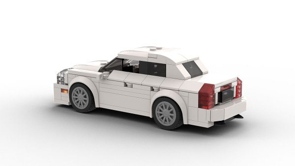LEGO Cadillac STS model rear view