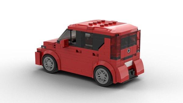 LEGO Kia Soul 2020 model rear view