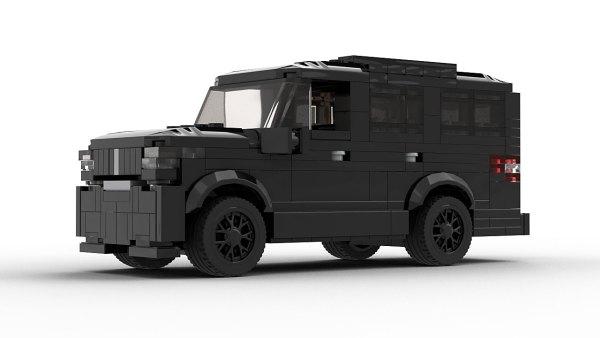 LEGO Lincoln Navigator 2020 model