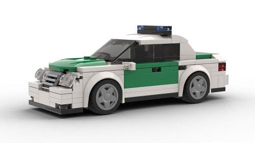 LEGO Mercedes-Benz E320 Police model