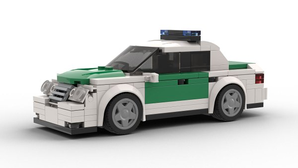 LEGO Mercedes-Benz E320 Police model
