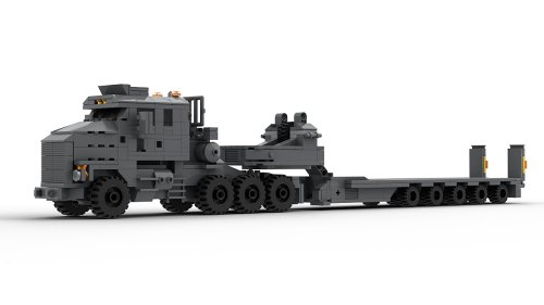LEGO Oshkosh M1070 model