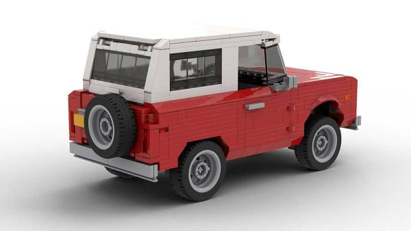 LEGO Creator Ford Bronco model rear view