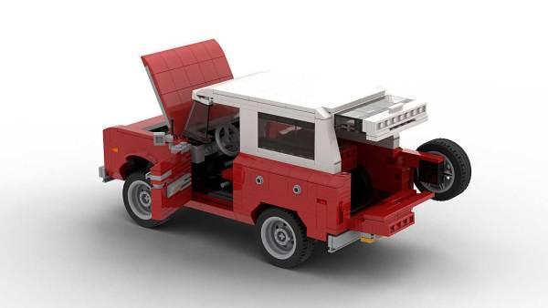 LEGO Ford Bronco Open Doors model