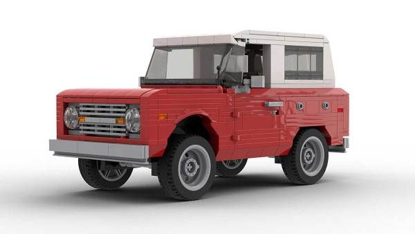 LEGO Ford Bronco model