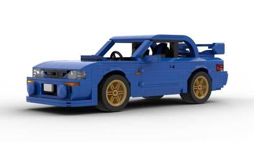 LEGO Subaru Impreza 22B model