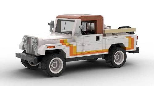 LEGO Jeep CJ8 Scrambler model