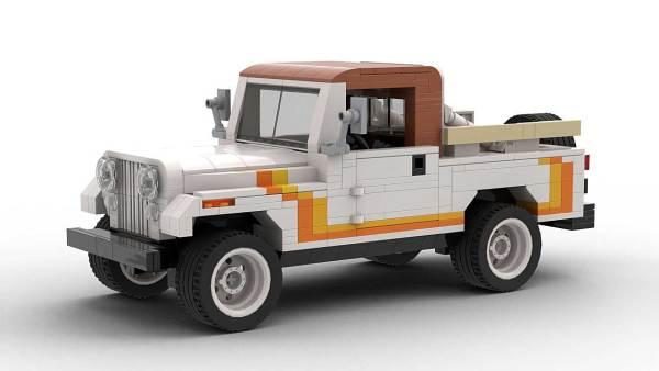 LEGO Jeep CJ8 Scrambler model