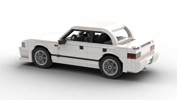 LEGO Subaru Impreza 98 model rear view