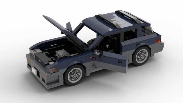 LEGO Subaru Impreza Outback Sport 98 model with opening parts