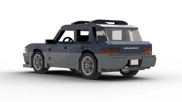 LEGO Subaru Impreza Outback Sport 98 model rear view