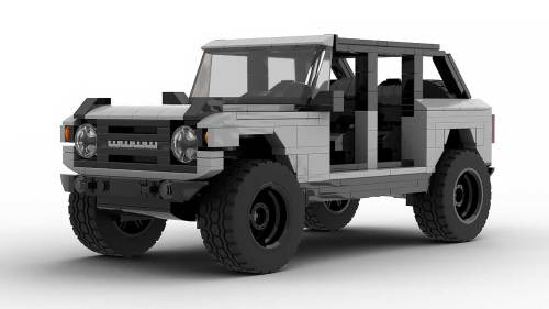 LEGO Ford Bronco 2021 4-door model
