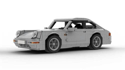 LEGO Porsche 993 Carrera S model
