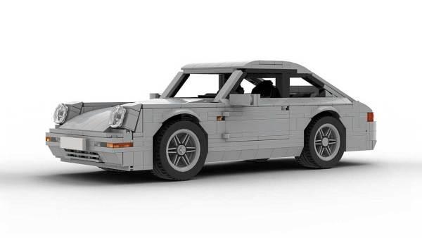 LEGO Porsche 993 Carrera S model