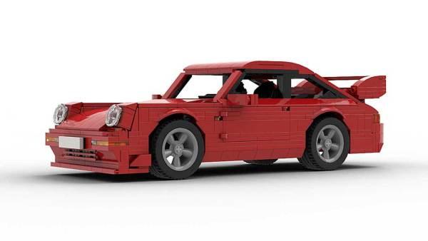 LEGO Porsche 993 GT2 model