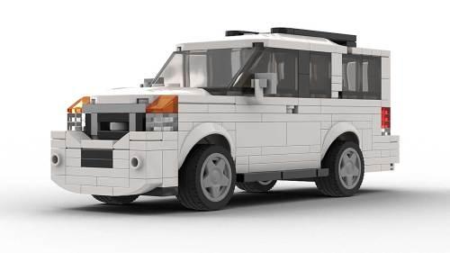 LEGO Nissan Armada model