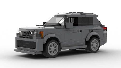 LEGO Volkswagen Atlas Cross Sport model