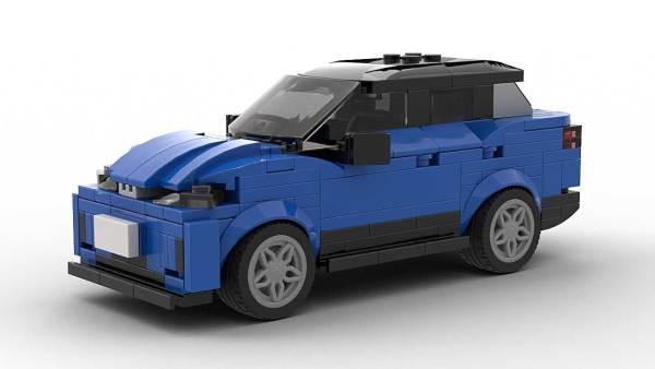 LEGO Volkswagen ID4 model