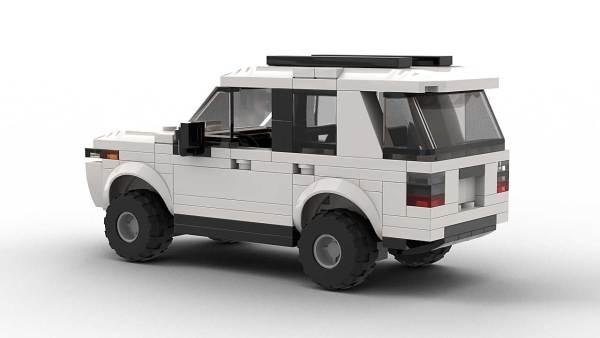 LEGO Toyota 4Runner SR5 model rear