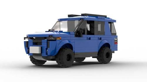LEGO Toyota 4Runner TRD Pro model