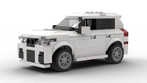 LEGO BMW X3 model