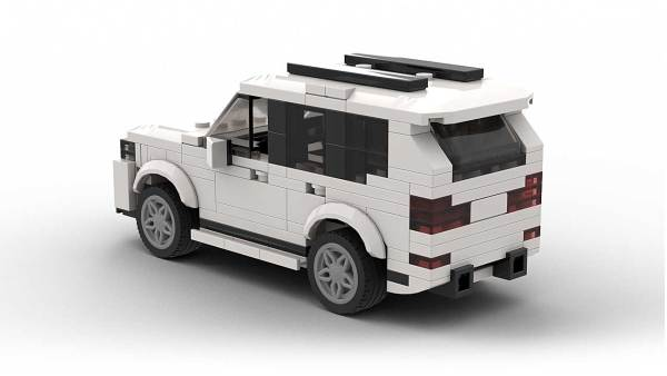 LEGO BMW X5 E70 FL model rear view