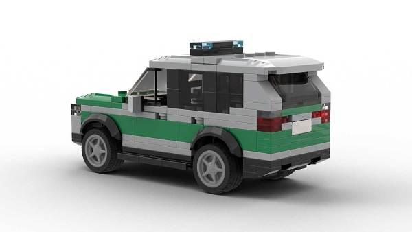 LEGO BMW X3 Police Model Rear View