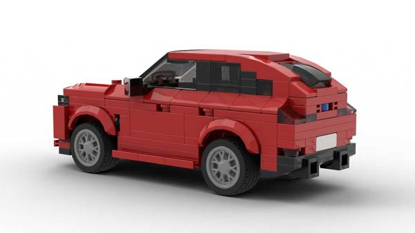 LEGO BMW X4 Model Rear View