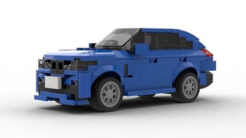 LEGO BMW X6 model