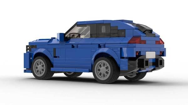 LEGO BWW X6 Model Rear View