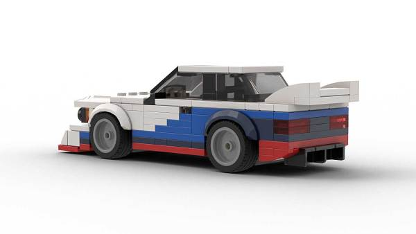 LEGO BMW E21 Group 5 model rear view