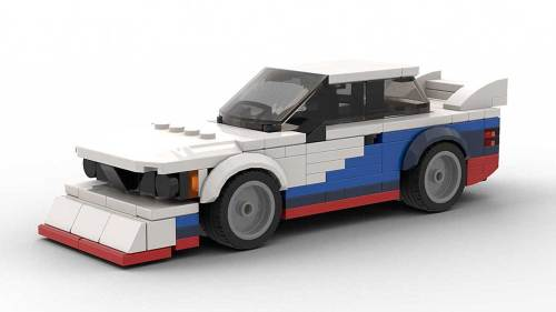 LEGO BMW E21 Group 5 model