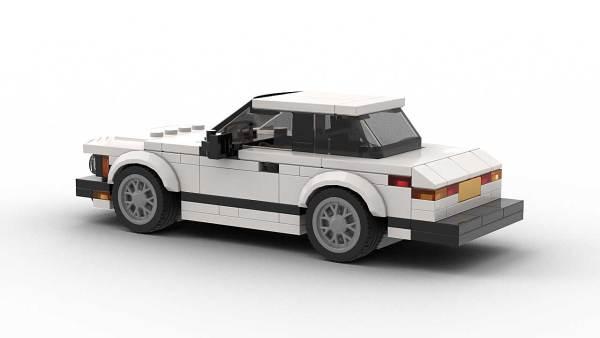 LEGO BMW E21 US model rear view