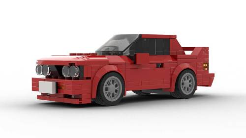 LEGO BMW E30 M3 model