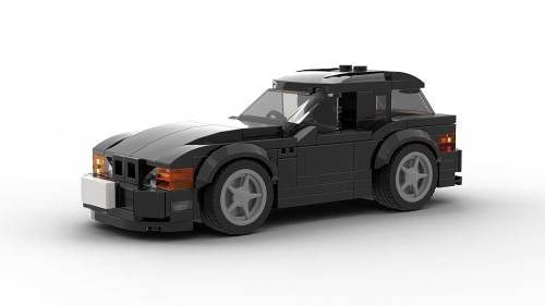 LEGO BMW Z3 Coupe model