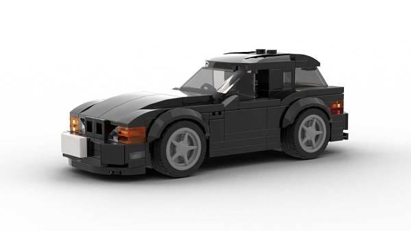LEGO BMW Z3 Coupe model