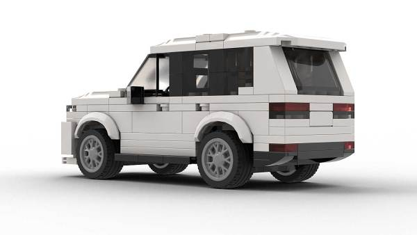 Jeep Grand Cherokee Model Rear