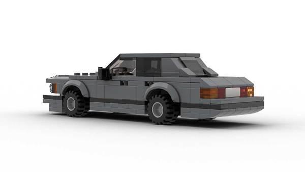 LEGO BMW E23 7 Series Model Rear