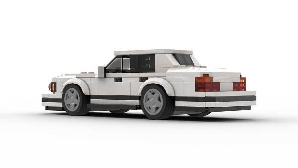 LEGO BMW E34 Model Rear View
