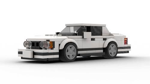 LEGO BMW E34 Model