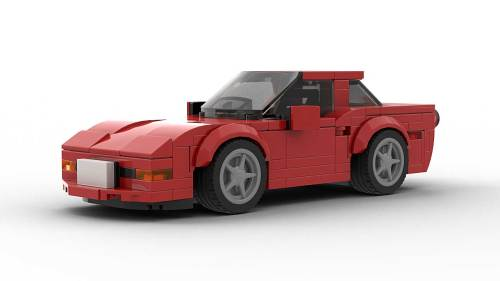 LEGO Chevrolet Corvette C5 Model