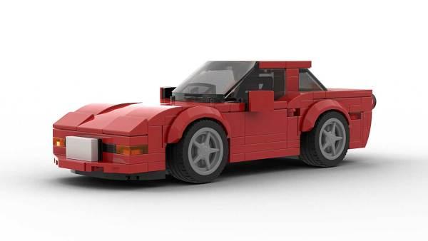 LEGO Chevrolet Corvette C5 Model